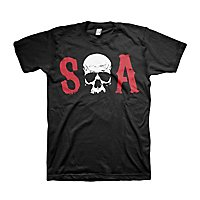 Sons of Anarchy - T-Shirt Totenkopf