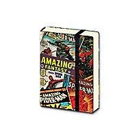 Spider-Man - A7 Mini Notizbuch Spider-Man Retro Comics