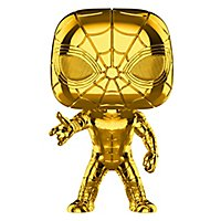 Spider-Man - Iron Spider (Gold Chrome) Funko POP! Bobble Head Figur