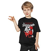 Spider-Man - Kinder T-Shirt Close Up