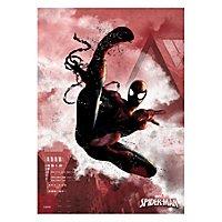 Spider-Man - Metall-Poster Spider-Man Marvel Comics