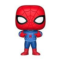 Spider-Man - Spider-Man mit Ugly Sweater Funko POP! Wackelkopf Figur