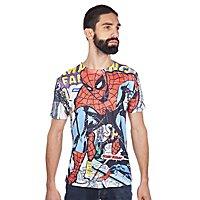 Spider-Man - T-Shirt Comic Allover
