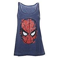 Spider-Man - Tank Top Gesicht