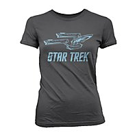 Star Trek - Girlie Shirt Enterprise Ship
