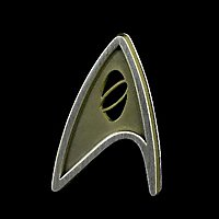 Star Trek - Sternenflottenabzeichen Wissenschaft aus Star Trek: Beyond