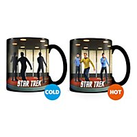 Star Trek - Tasse mit Thermoeffekt Transporter