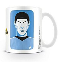 Star Trek - Tasse Spock Pop Art