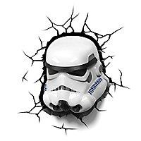 Star Wars - 3D Wandleuchte Stormtrooper