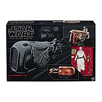 Star Wars 7 - Spielset Rey und Speeder The Black Series
