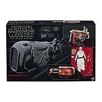 Star Wars 7 - Spielset Rey und Speeder The Black Series