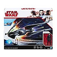 Star Wars 8 - Forcelink Tie Silencer mit Kylo Ren Figur