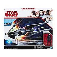 Star Wars 8 - Forcelink Tie Silencer mit Kylo Ren Figur