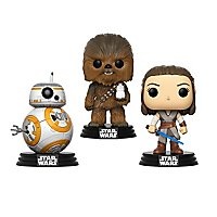 Star Wars 8 - Good Guys Funko POP! Wackelkopf Figuren-Set