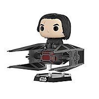 Star Wars 8 - Kylo Ren im Tie Fighter Funko POP! Deluxe Figur