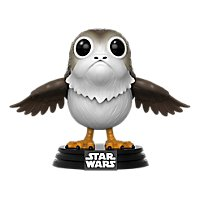 Star Wars 8 - Porg Funko POP! Wackelkopf Figur (Exclusive)