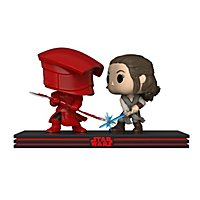 Star Wars 8 - Rey & Prätorianer Funko POP! Movie Moments Set