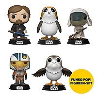 Star Wars 8 - Star Wars 8 Funko POP 5er Figuren-Set