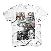 Star Wars 8 - T-Shirt Characters