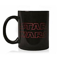 Star Wars 8 - The Last Jedi Logo Tasse mit Thermoeffekt