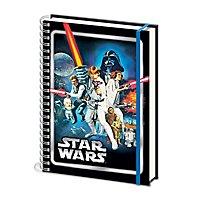 Star Wars - A5 Notizbuch Krieg der Sterne