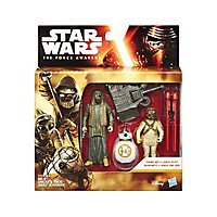 Star Wars - Figuren-Set BB-8, Unkar´s Thug & Jakku Scavenger