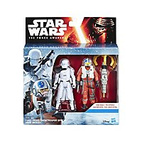 Star Wars - Figuren-Set Snowtrooper & Snap Wexley