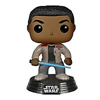 Star Wars - Finn mit Lichtschwert Funko POP! Wackelkopf Figur (Exclusive)