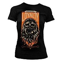Star Wars - Girlie Shirt Chewbacca Loyalty