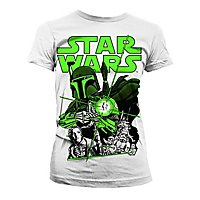 Star Wars - Girlie Shirt Vintage Boba Fett