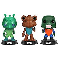 Star Wars - Greedo, Hammerhead, Walrus Man Funko POP! Figuren-Set (Exclusive)