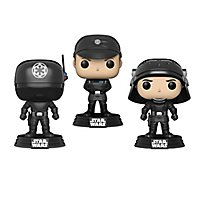 Star Wars - Gunner, Officer & Trooper Wackelkopf Funko POP! Figuren-Set (Exclusive)