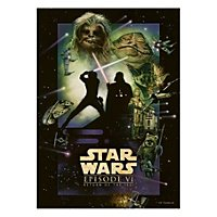 Star Wars - Metall-Poster Return Of The Jedi