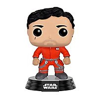 Star Wars - Poe Dameron im Overall Funko POP! Wackelkopf Figur (Exclusive)