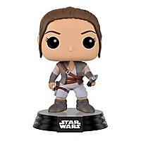 Star Wars - Rey mit Lukes Lichtschwert Funko POP! Wackelkopf Figur (Exclusive)
