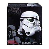Star Wars: Rogue One - Deluxe Stormtrooper Helm Black Series mit Spracheffekt