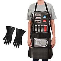 Star Wars - Set Schürze und Ofenhandschuhe Darth Vader
