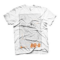 Star Wars - T-Shirt BB-8 Blueprint