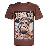 Star Wars - T-Shirt Chewbacca Back to Kashyyyk