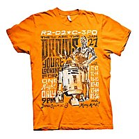 Star Wars - T-Shirt Droids Night