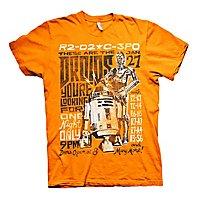 Star Wars - T-Shirt Droids Night