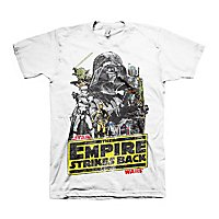 Star Wars - T-Shirt The Empires Strikes Back