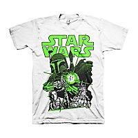 Star Wars - T-Shirt Vintage Boba Fett