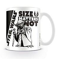 Star Wars - Tasse Size Matters Not