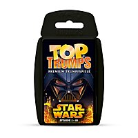 Star Wars - Top Trumps Kartenspiel Episode I - III