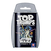 Star Wars - Top Trumps Kartenspiel Episode IV - VI