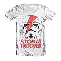 Star Wars - Wide Neck T-Shirt Trooping Sane