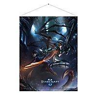 Starcraft - Wandrolle Kerrigan gegen Nova