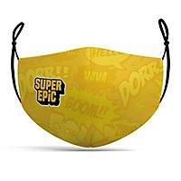 Stoffmaske Super Epic Comic