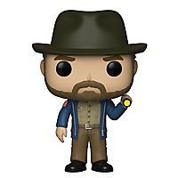 Stranger Things - Hopper mit Taschenlampe Funko POP! Figur
